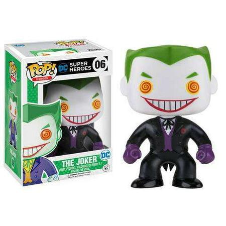 The Joker Suit (DC Funko POP! Heroes The Joker Vinyl Figure [Black)