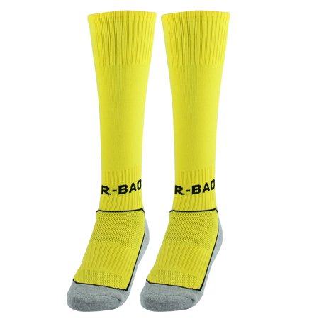 R-BAO Authorized  Outdoor Sports Soccer Football Long Socks Yellow Pair - image 5 of 5