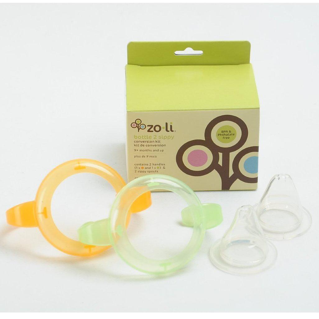 Zoli Baby Sippy Conversion Kit - 2 Handles & 2 Spouts