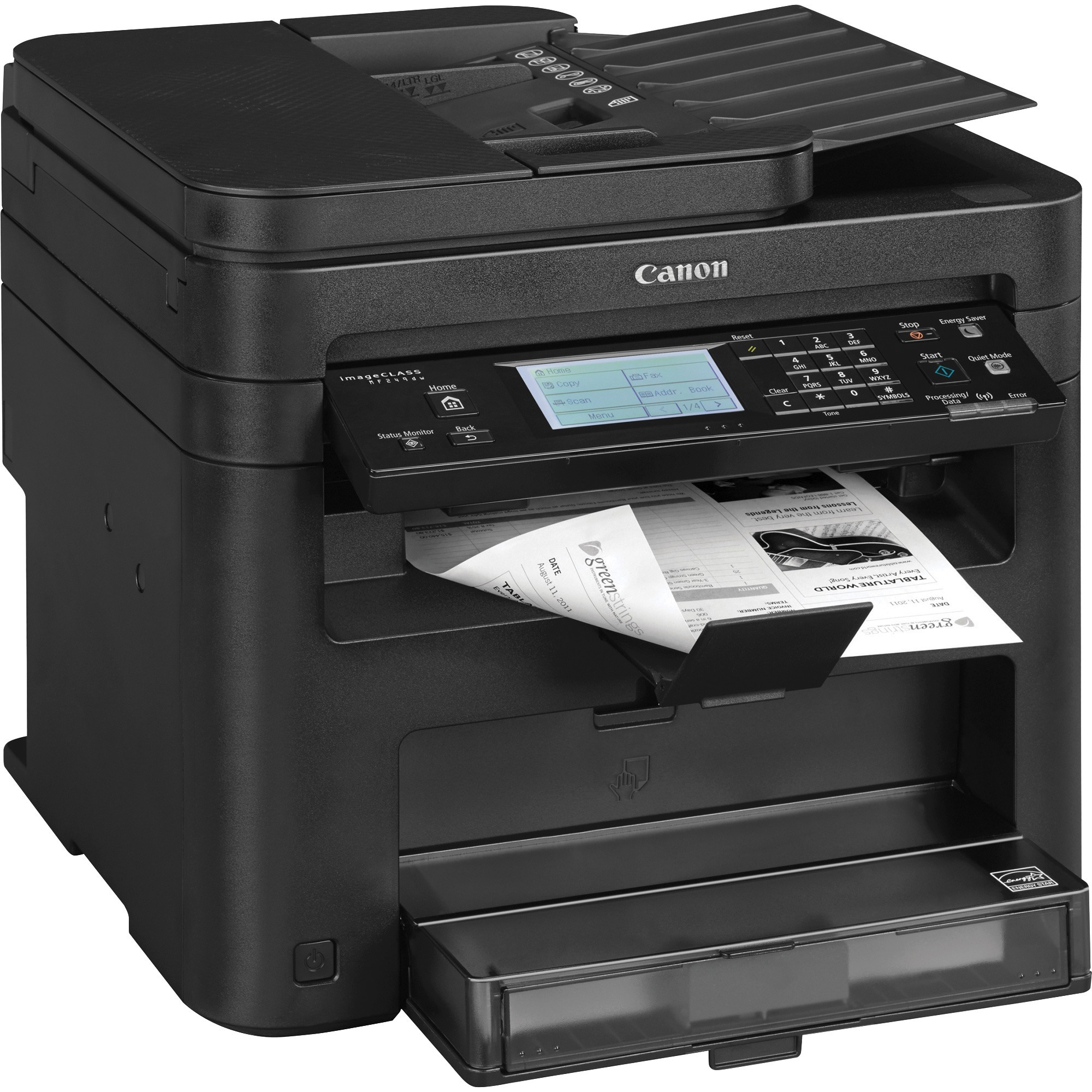 Canon, CNMICMF249DW, imageCLASS MF249dw All-in-1 Laser Printer, 1 Each