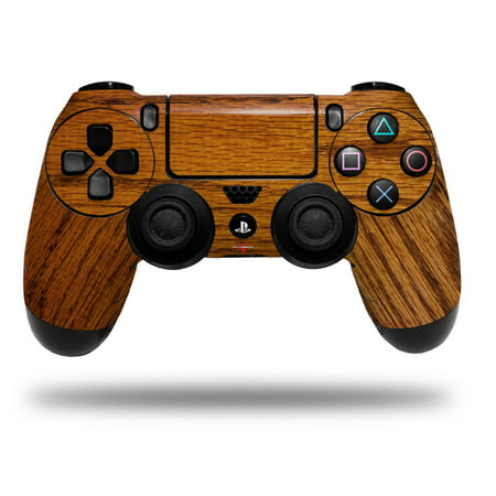 Skin Wrap for Sony PS4 Dualshock Controller Wood Grain - Oak 01 (CONTROLLER NOT INCLUDED) (Ps4 Wood Grain Skins)