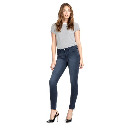 Meet Your New Favorite Pair Of Jeans | High Rise Ankle Skinny Blue Jeans By Genetic Denim | Made In Usa Women's Fashion Best Pair Of Jeans