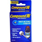 Compound W Wart Remover Liquid 0.31 oz.