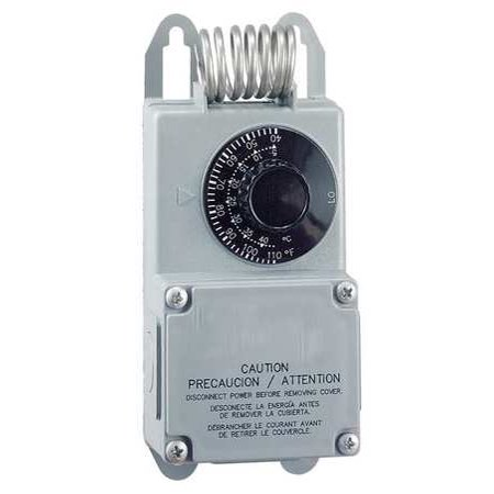 PECO Line Volt Mechanical Tstat,24 to 277VAC TF115-001