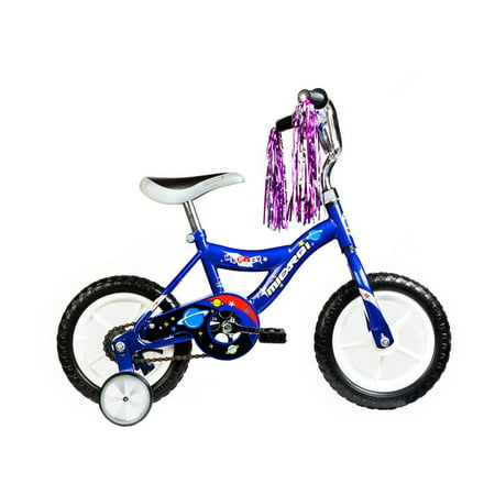 MICARGI INDUSTRIES Micargi Kids Blue Boys 12-inch Bicycles with Training Wheels