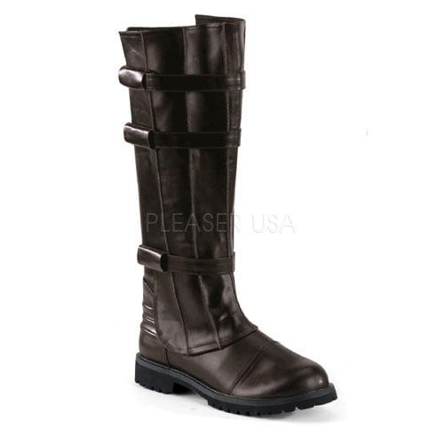 Mens Brown Walker Halloween Boots