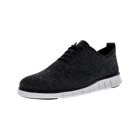 69f570a4036 Cole Haan - Cole Haan Men s Zerogrand Stitchlite Oxford Multi   Black  Magnet White Ankle-High Fabric Shoe - 9M - Walmart.com