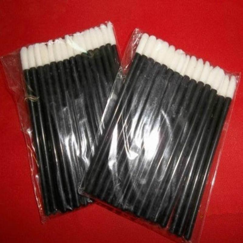 50Pcs Disposable Lip brush lipstick Gloss Wands Applicator lipbrush Makeup Tool