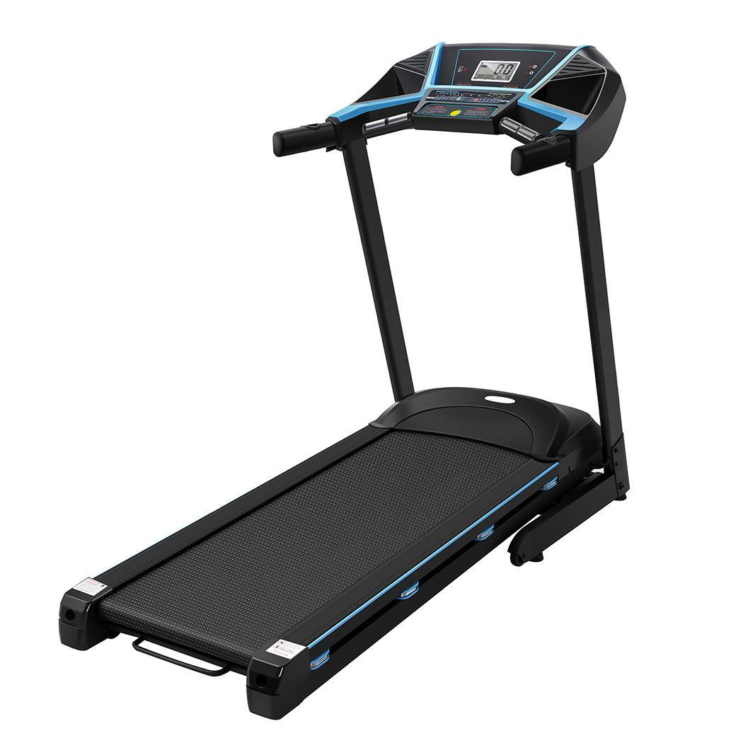 3.0HP Folding  Electric Treadmill with double layers APP ...