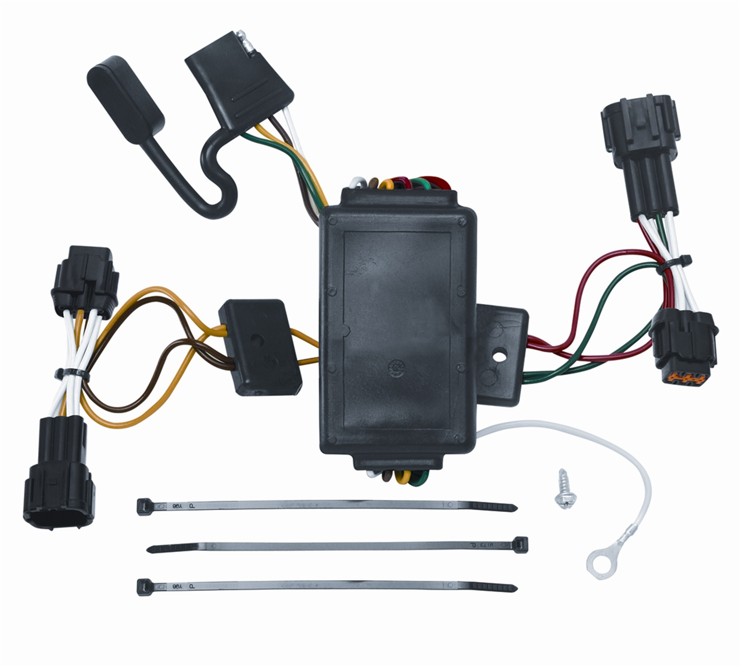 vehicle to trailer wiring harness connector for 09-12 nissan cube plug play  - walmart com