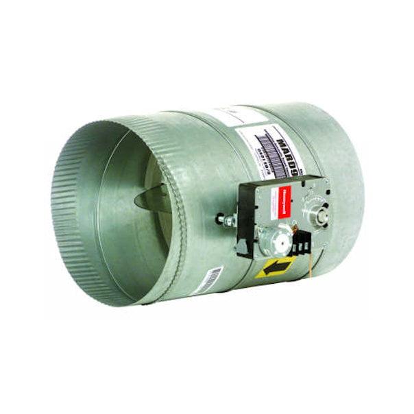 "Honeywell 10"" Automatic Round Modulating Damper"