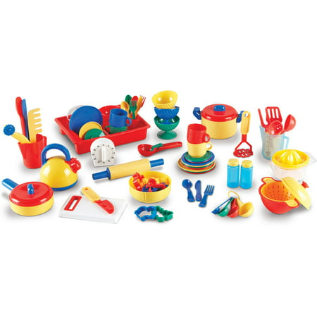 learning resources pretend and play kitchen set - walmart