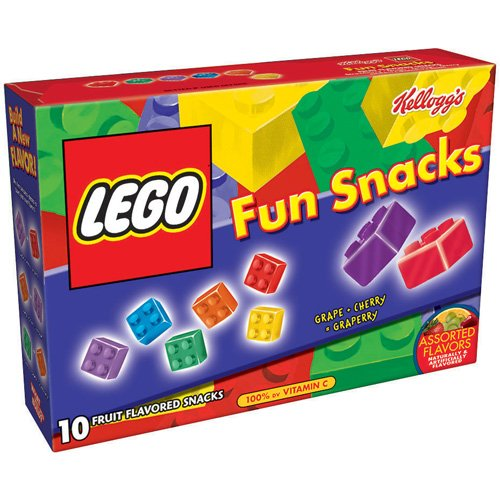 Kellogg's Lego Fruit Flavored Snacks, 10ct