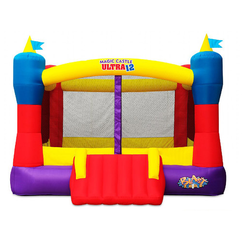Blast Zone Magic Castle Ultra 12 Bounce House by Vortex International Enterprises