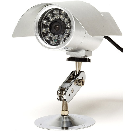 Q-SEE QS2814C Outdoor Day and Night CCD Color Camera Kit and 60' of Night Vision