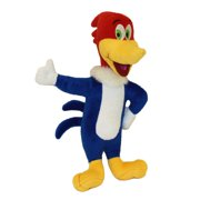 "Multipet Woody Woodpecker Talking Plush Dog Toy, 11"", Laughs When Squeezed"