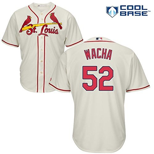 Michael Wacha St. Louis Cardinals #52 MLB Youth Cool Base Alternate Jersey Ivory (Youth Large 14/16)