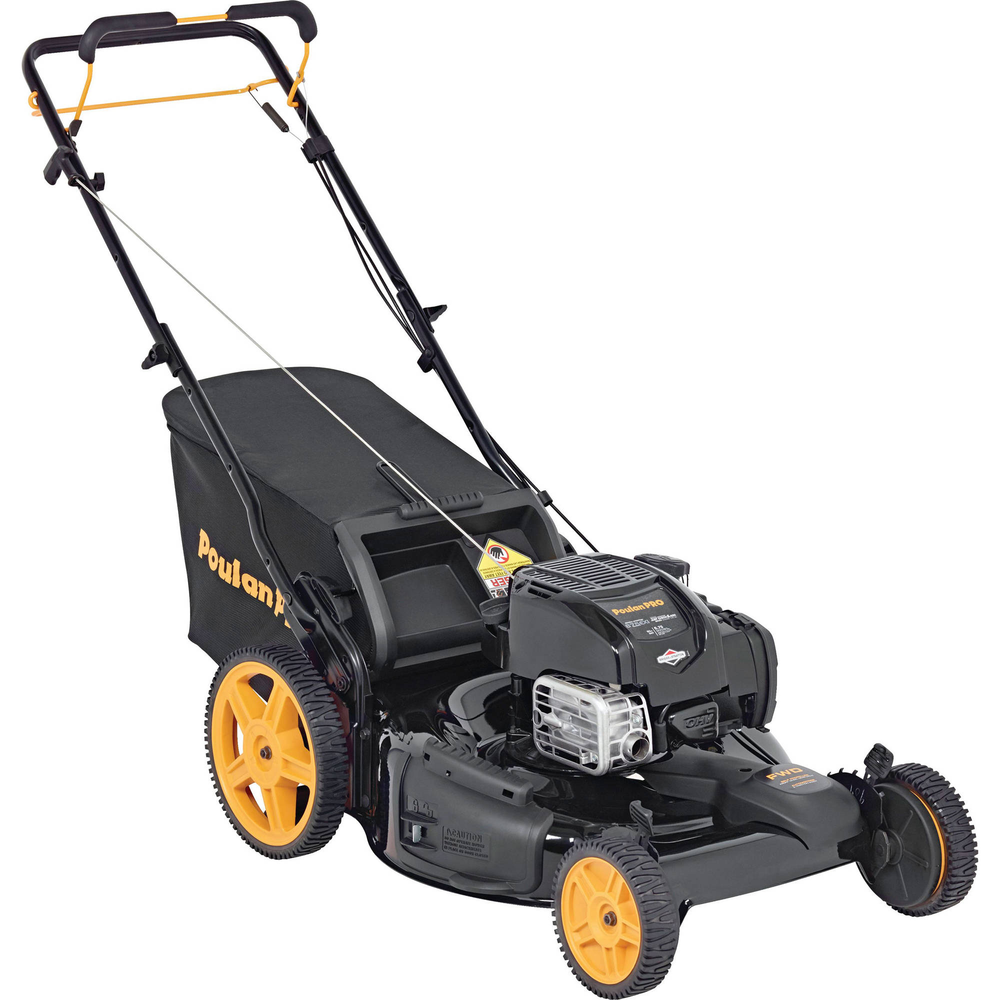 "Poulan Pro 22"" Gas 3-in-1 Front Wheel Drive Mower"