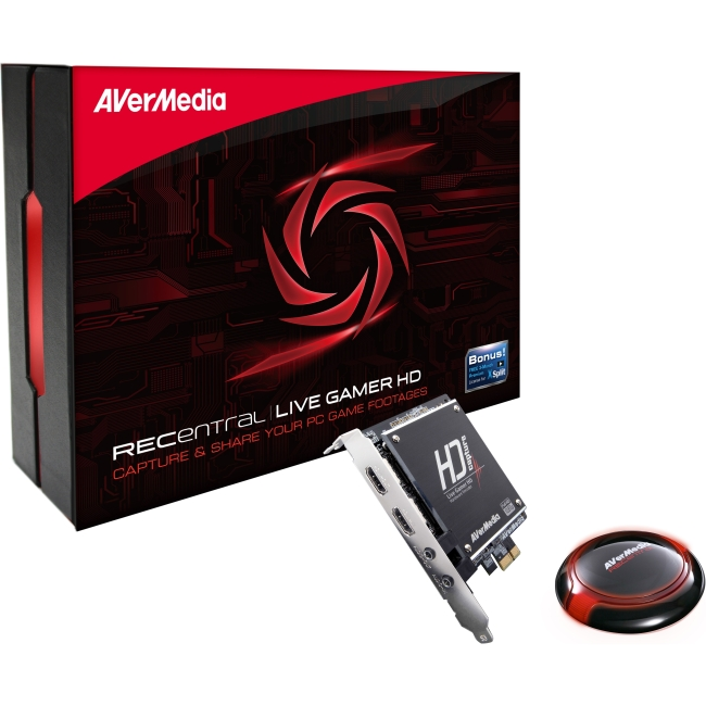 AVerMedia Live Gamer HD PCI Express Video Streaming Capture Card