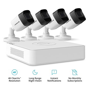 Defender Ultra HD 4K (8MP) 1TB Wired Security Camera System