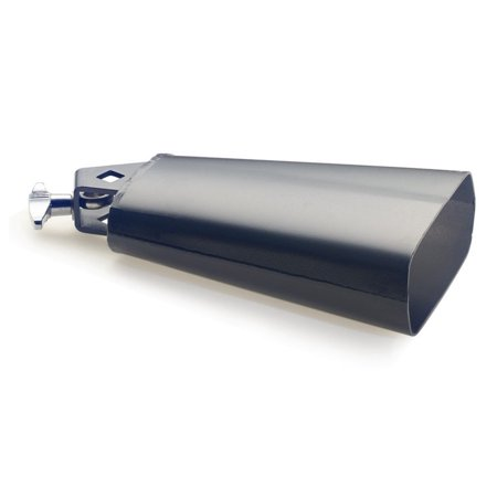 CB306BK 6.5-InchRock Cowbell for Drumset - Black, Steel Construction By Stagg From USA - Cowbells For Sale