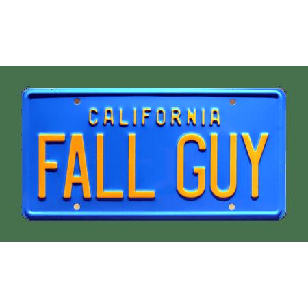 Fall Guy | Colt Seavers' GMC Pickup Truck | FALL GUY | Metal Stamped Replica Prop License Plate ()
