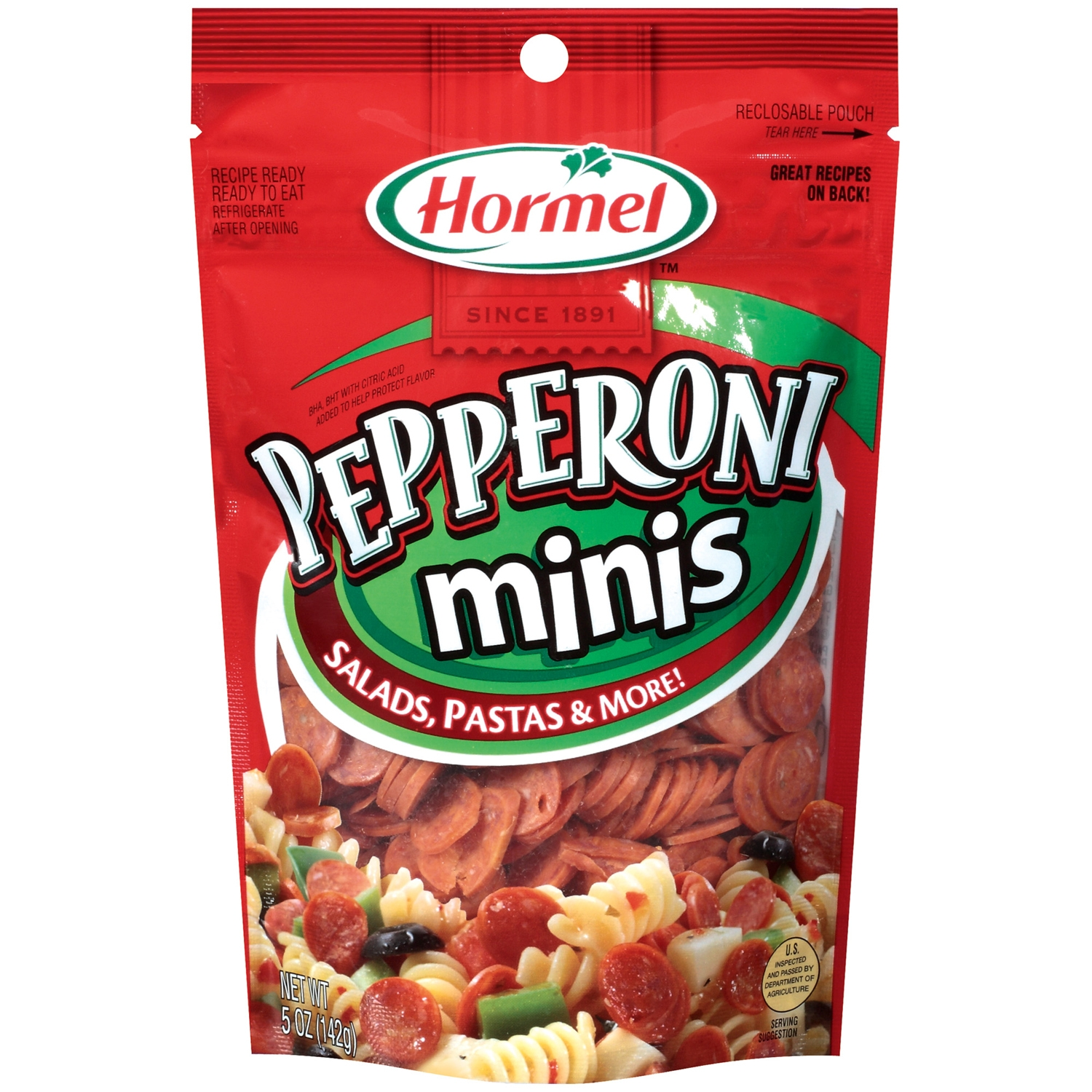 HORMEL Minis Pepperoni 5 OZ PEG