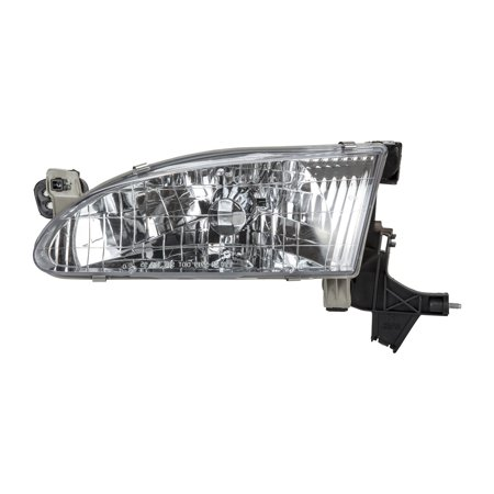 TYC 20-5220-00-1 Left Headlight Assembly for 1998-2000 Toyota Corolla TO2502121