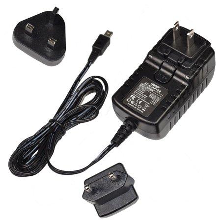 Power Video Plug - HQRP Wall AC Power Adapter for JVC GR-SXM38U / GRSXM38U Camcorder + HQRP Euro Plug Adapter