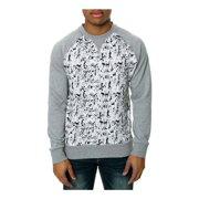 Staple Mens The Pigeon Posse Crewneck Sweatshirt, grey, X-Large