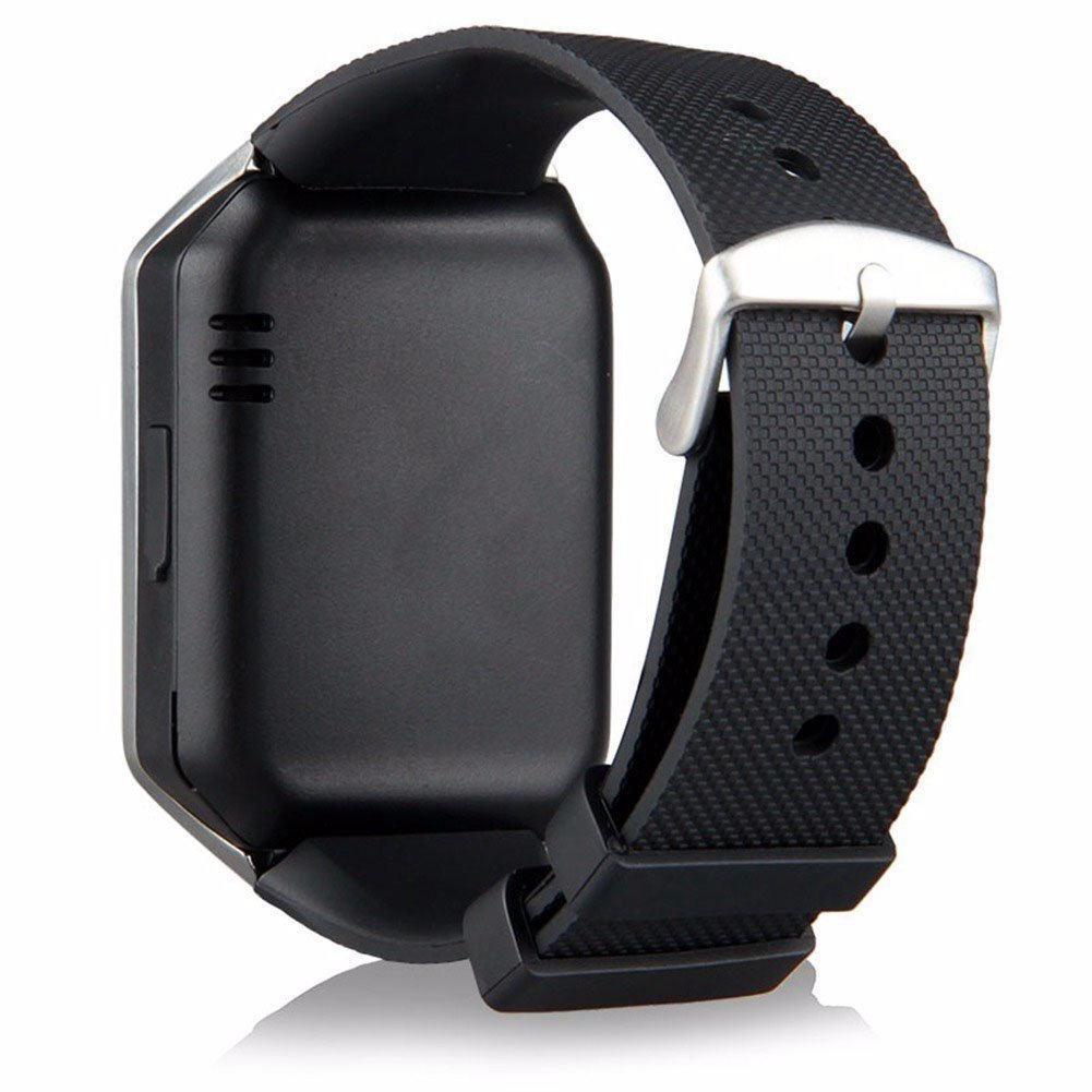 3085db763 Bluetooth Smart Watch DZ09 Smartwatch GSM SIM Card With Camera For Android  IOS Black - Walmart.com