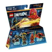 LEGO Dimensions Kai & Cole (LEGO Ninjago) Team Pack (Universal)