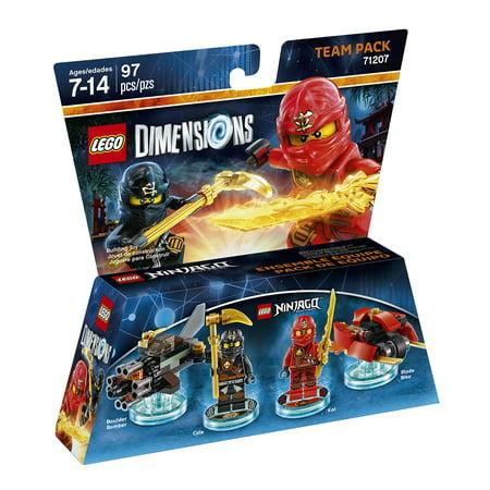 LEGO Dimensions Kai & Cole (LEGO Ninjago) Team Pack (Universal) (Lego Kai Ninjago)