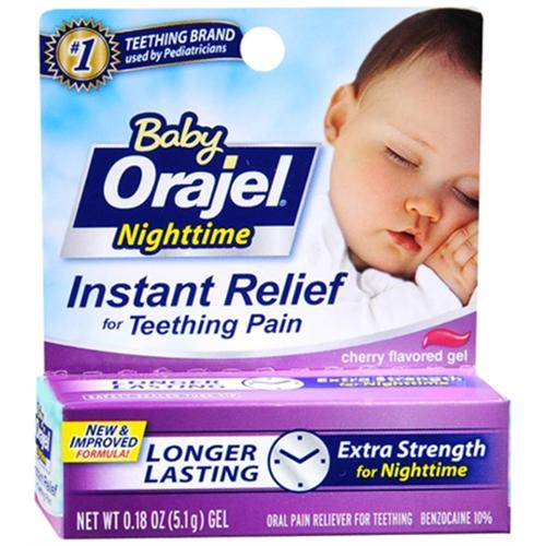 Baby Orajel Nighttime Formula 0.18 oz (Pack of 6)