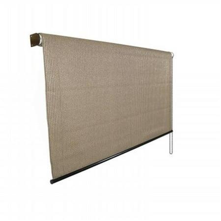 799870 95 Percent Exterior Shade 6 ft. x 8 ft. Walnut - image 1 of 1