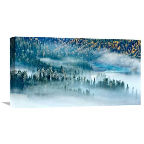 Global Gallery 'Magic Bay' by Hua Zhu Graphic Art on Wrapped Canvas