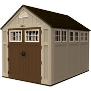 Little Cottage 10 x 10 ft  5-Sided Colonial Panelized Garden Shed