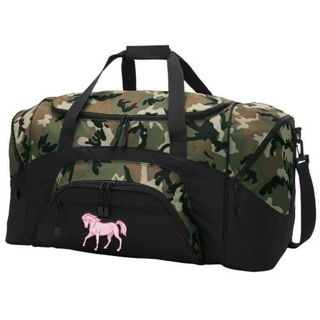 55dba28e137 Broad Bay Cute Horse CAMO Duffel Bag - Walmart.com