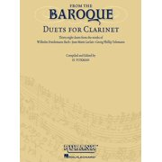 From the Baroque: Duets for Clarinet (Other)