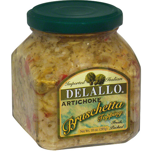 DeLallo Artichoke Bruschetta, 10 oz (Pack of 6)