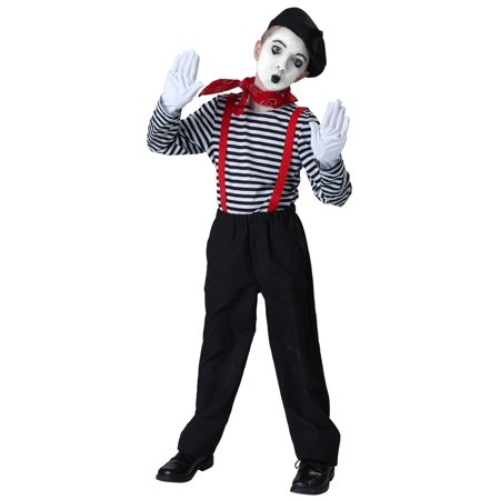 Child Mime Costume](Adult Mike Costume)