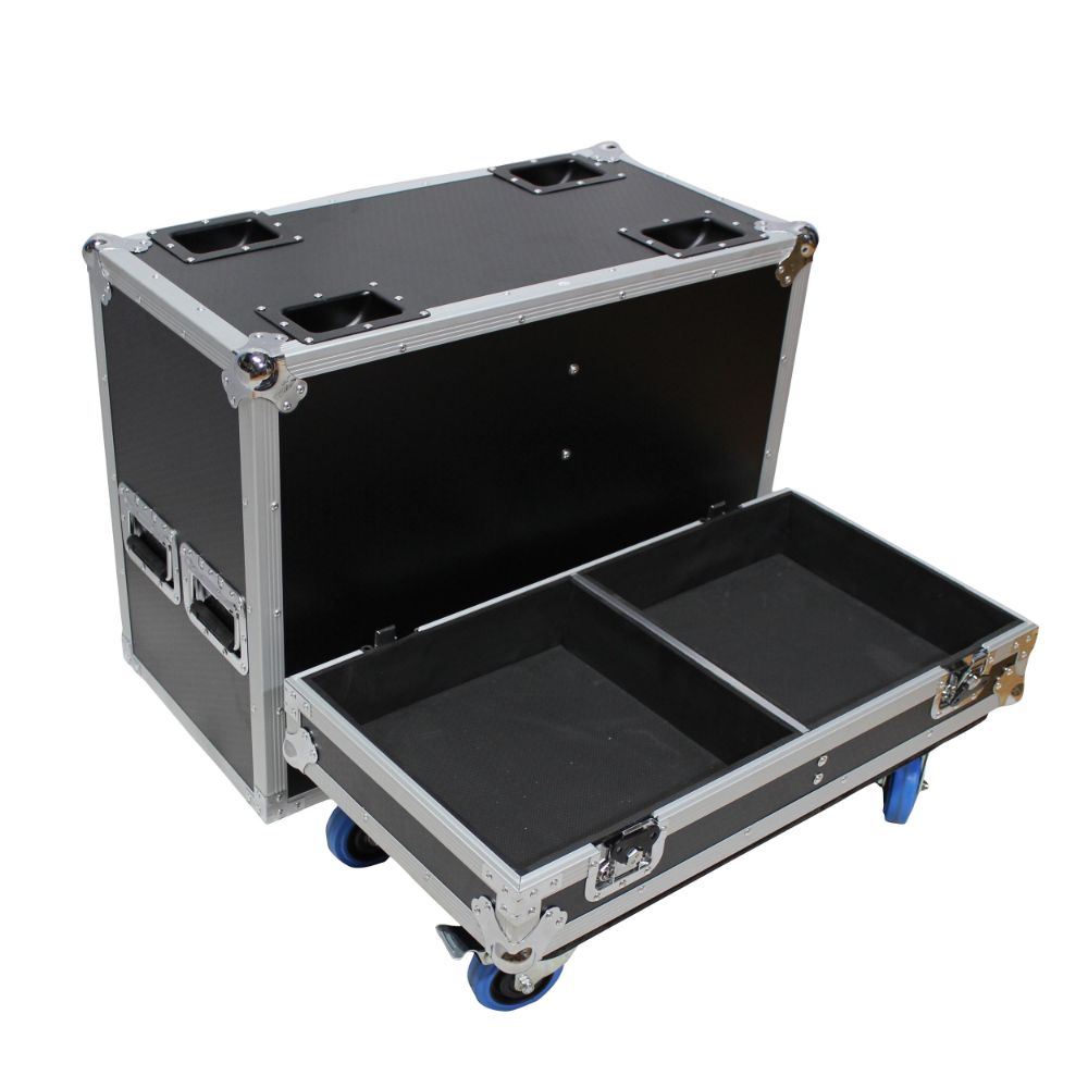 Prox Ata Style Flight Case For 2X Qsc K12 Speakers