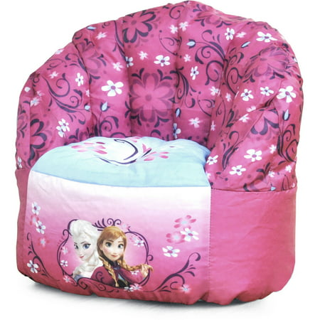 Disney Frozen Bean Bag Chair Pink Walmart Com