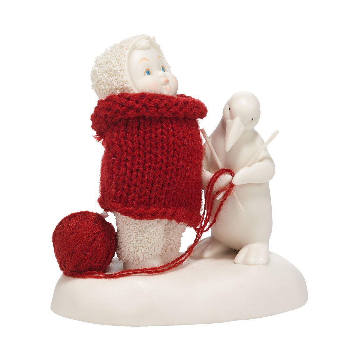 Snowbabies Department 56 Snowbabies Classics My Christmas Sweater Figurine, 4.25-Inch