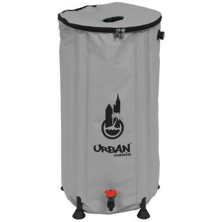 Urban Oasis Collapsible Water Storage Barrel 25.9 Gallon