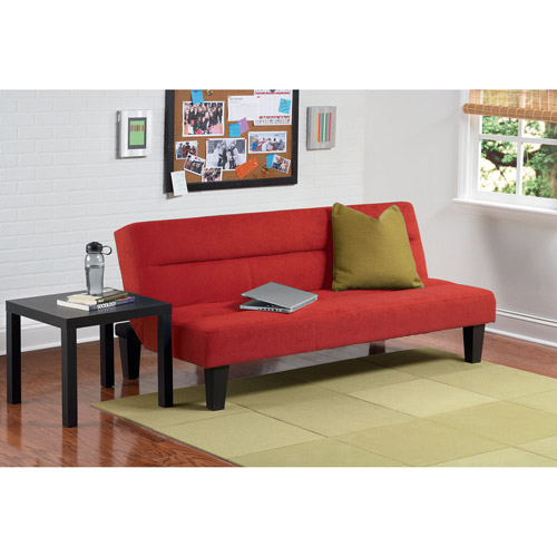 Kebo Futon Sofa Bed Red Dorm