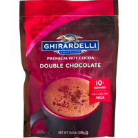 Ghirardelli Double Chocolate Hot Cocoa Pouch, 10.5 oz
