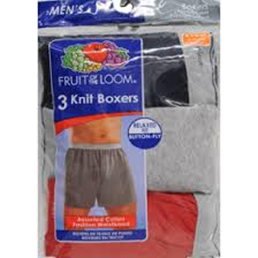 Ftl 3pk Knit Boxer, Size 3xl