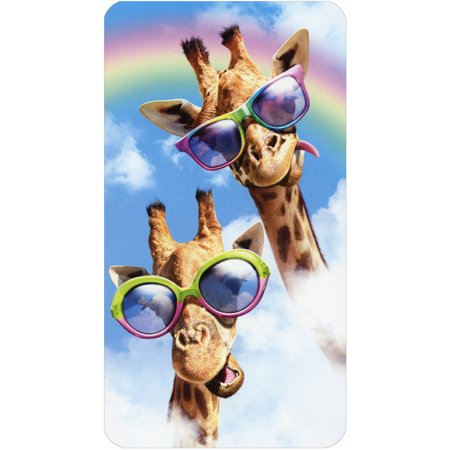 Avanti Press Giraffes In Sunglasses Funny Oversized Birthday Card