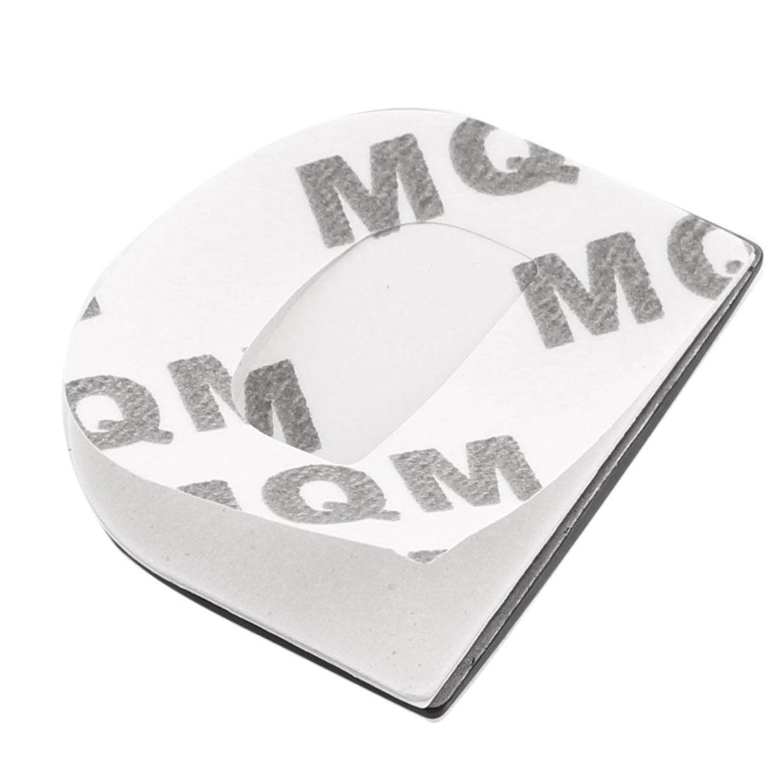 Self Adhesive Round Dot Car 3D Emblem Badge Decal Chrome Symbol Stickers